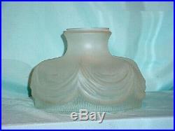 10 GLASS Coleman SHADE / oil kerosene lamp Glass Drape RAYO B&H MILLER Aladdin
