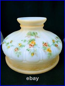 10 New Coleman 329 Kerosene Oil Lamp Shade Hand Painted Roses Aladdin