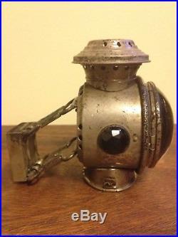 1896 Aladdin Kerosene Bicycle Boat Lamp