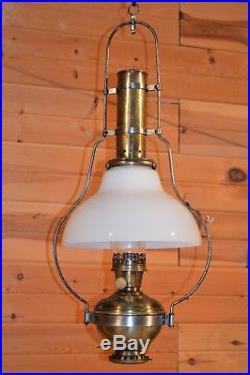 1914 ALADDIN #6 Style #115 Hanging Lamp #215 Shade #6 Burner wick #5 Font Chimn