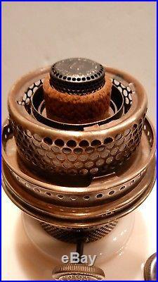 1930's Aladdin Alacite Lincoln Drape Kerosene Oil Lamp Model B Burner