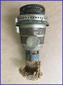 1940's COBALT ALADDIN MANTLE OIL LAMP