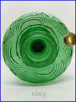 1941-1942 B54E Emerald Green Aladdin Washington Drape Kerosene oil Lamp