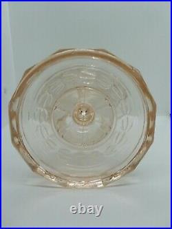 1941-1955 B53P Pink Tint Aladdin Washington Drape Kerosene Oil Lamp