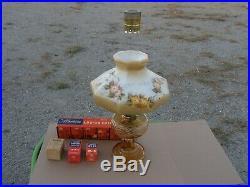 1941 ALADDIN LAMP WASHINGTON DRAPE B-49 BROWN BELL STEM with CHOICE OF ONE SHADE