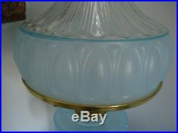1992 Blue Moonstone aladdin lamp-new in box