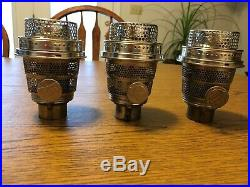 3 nickle model b aladdin lamp burners with new galleries