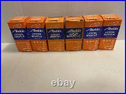 (6) NOS Aladdin Oil Kerosene Lamp Mantles Models 12 B C 21 23 +