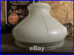 701b 701-b Aladdin Glass Shade 10 Lamp Light For Model B