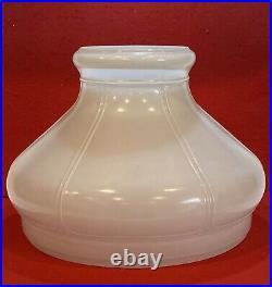 ALADDIN #701 Vintage White Hurricane Kerosene Oil Student Lamp Shade 10 Fitter