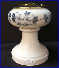 ALADDIN FLORENTINE MAJESTIC FLORAL LAMP BASE KEROSENE OIL LAMP NEW JADITE