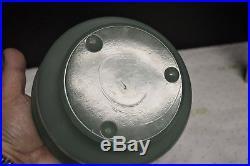 ALADDIN Green Moonstone Model B WALL LAMP NuType B Burner Lox On Chimney