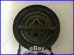 ALADDIN KEROSENE oil HANGING LAMP ceiling extension MOTOR NO. 1B FANCY CAST BAR