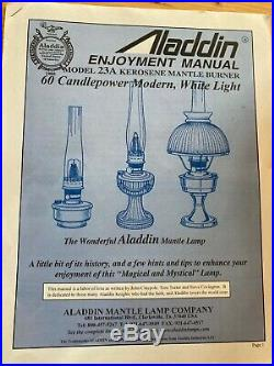 ALADDIN MANTLE Kerosene Lamp Model 23 A
