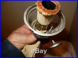 ALADDIN MODEL #9 UNBURNED BURNER Complete For #9 KEROSENE OIL LAMP