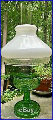 ALADDIN MODELS B-54 E WASHINGTON DRAPE KEROSENE STAND LAMP with Aladdin Shade 701B