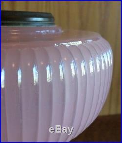 ALADDIN Model B Table Lamp VERTIQUE ROSE MOONSTONE B-87 Original 1938 pink