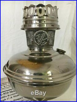ANTIQUE ALADDIN ready to burn MODEL NO. 11 mantle lamp COMPLETE emergency light