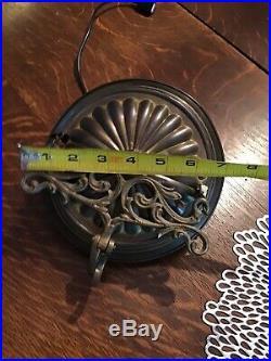 Aladdin #1 Kerosene Oil Lamp Pulldown, Rare Spreaderbar