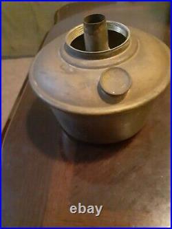 Aladdin #1240 Variegated Verde Crystal Vase Lamp