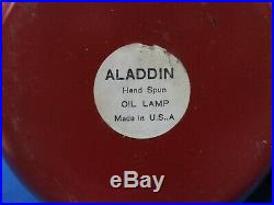 Aladdin 1980's Special Edition L. L. Bean & Knights Kerosene Lamps