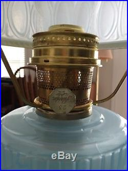 Aladdin 1992 blue Moonstone lamp