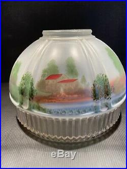 Aladdin 616S Gristmill Antique Oil Kerosene Hanging Mantle Lamp Shade