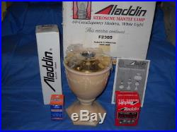 Aladdin Alacite Florentine Vase Lamp F2305 New Old Stock NOS NIB