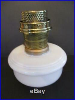 Aladdin Alacite Hanging Oil Lamp Font With Model B Chicago Burner