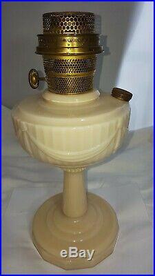 Aladdin Alacite Lincoln Drape B-75 Pre War Old Formula Oil Lamp