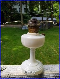 Aladdin Alacite Model B Simplicity Kerosene Oil Lamp with Nu-Type B Burner