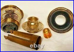 Aladdin Alacite Short Lincoln Drape Lamp (b-60)
