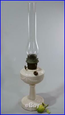 Aladdin Alacite Tall Lincoln Drape Kerosene Lamp