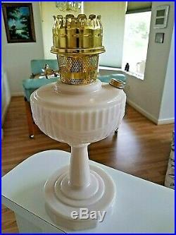 Aladdin Alacite Tall Lincoln Drape Oil Lamp B-75