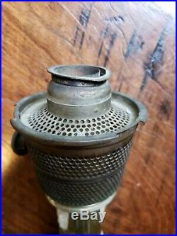 Aladdin Amber Beehive Nu-Type Model B Burner Kerosene Lamp