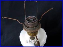 Aladdin Antique Original Lincoln Drape Kerosene Lamp Model B Burner White A