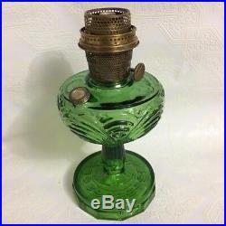 Aladdin B-54 Green Washington Drape Kerosene Mantle Lamp