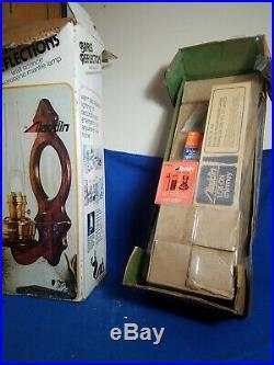 Aladdin BRASS REFLECTIONS WALL SCONCE KEROSENE MANTLE Lamp NIB Model 23 NOS 79