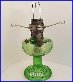 Aladdin Beehive Green B 81 Kerosene Oil Lamp Marked 15
