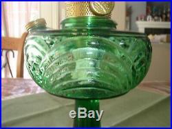 Aladdin Blue-Green Washington Drape Lamp, Style B-54E Circa 1941-1953