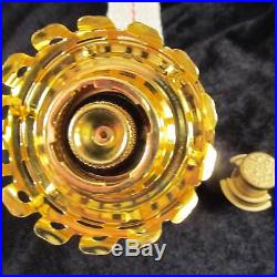 Aladdin Brand Brass MaxBrite Burner / Alladin kerosene oil lamp Model 500