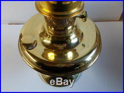 Aladdin Brass 100th Anniversary Parlor Lamp Complete Lamp