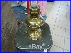 Aladdin Brass Oil / Kerosene Lamp #23 Burner, Complete, EUC