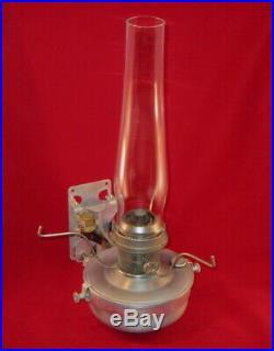 Aladdin Caboose Railroad Lamp Lock On Chimney