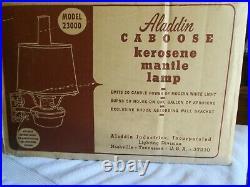Aladdin Caboose kerosene mantle lamp