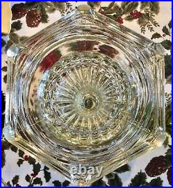 Aladdin Cathedral 1934 Oil Lamp Clear Beta Crystal B-107