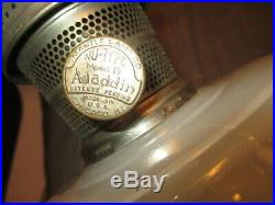 Aladdin Cathedral Moonstone Oil Lamp1934-1935