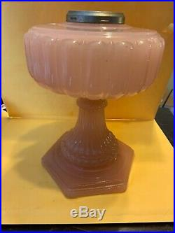 Aladdin Cathedral Pink Moonstone Lamp a017