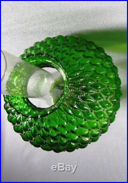 Aladdin Corinthian Oil Lamp Kerosene Green Nu Type Model B ONE