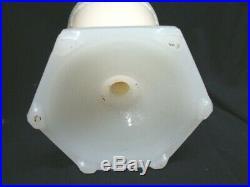 Aladdin Florentine Vase Lamp Model 12 with Whip-o-lite Shade, Authentic Original